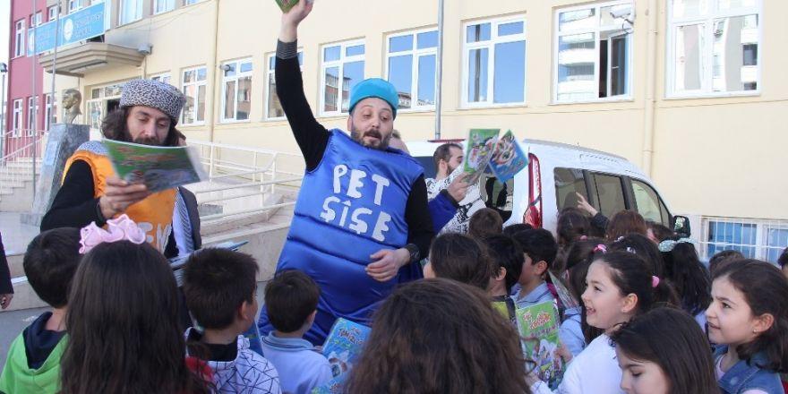 Atakum'da 'geri dönüşüm' çalışmaları