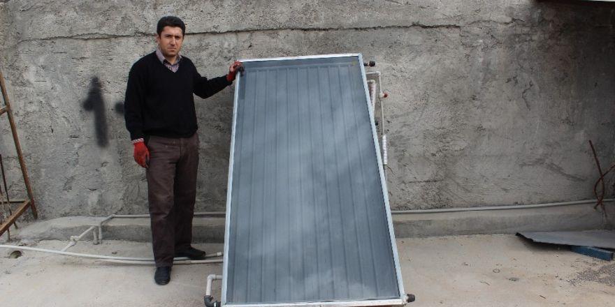 İlkokul mezunu vatandaş deposuz enerji paneli yaptı
