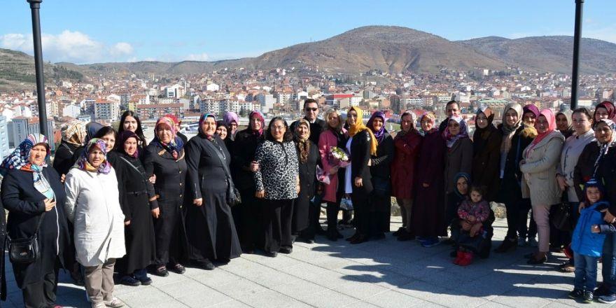 Başkan Bakıcı Yediler Mahalleli hanımlar ile bir araya geldi
