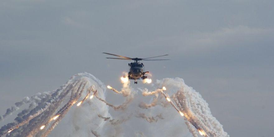 Deniz Hava Komutanlığından Batı Karadeniz'de nefes kesen tatbikat