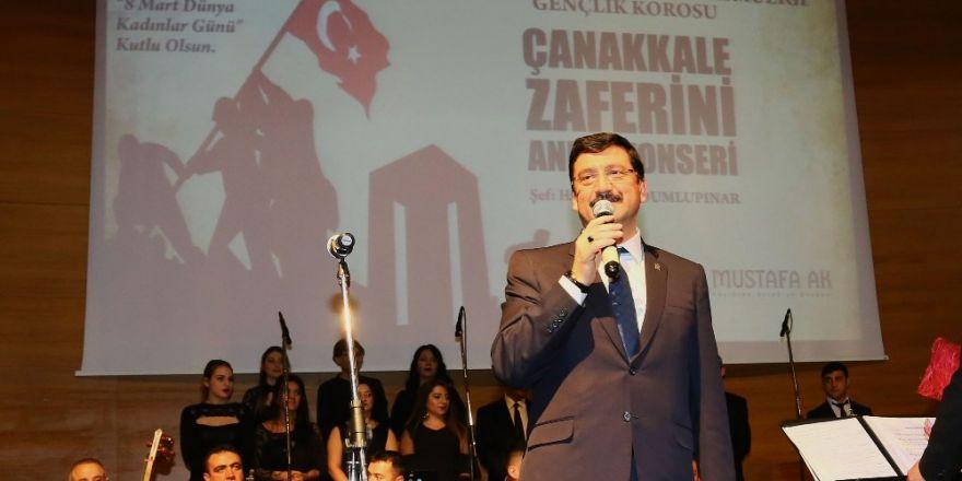 Keçiören'de Çanakkale Zaferi konseri