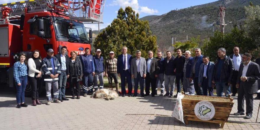 Bayırköy Belediyesi'ne yeni tam donanımlı itfaiye