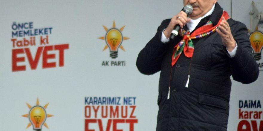 """Başbakan Yıldırım: """"Bunlar dostluğa, müttefikliğe sığmaz"""""""