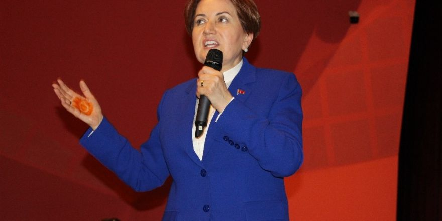 Meral Akşener Eskişehir'de