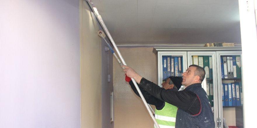 Turgutlu'daki muhtarlık binaları yenileniyor