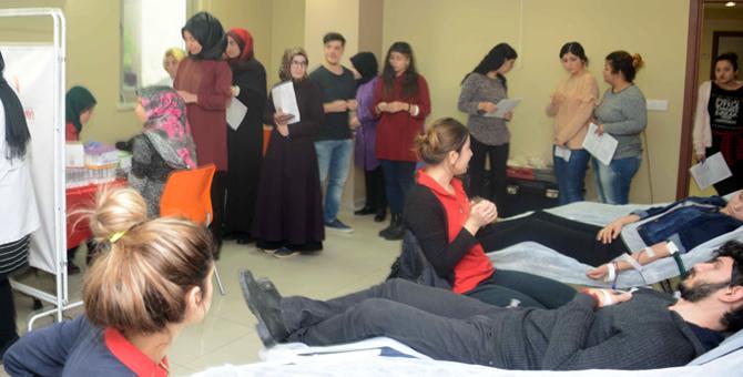 Tuzla'dan Örnek Kan Bağışı