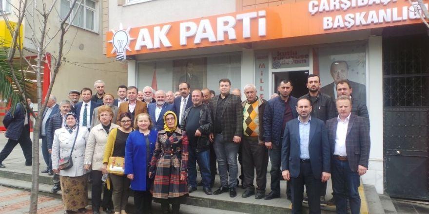 """AK Parti Trabzon Milletvekili Balta: """"Trabzon'dan çok güçlü bir 'Evet' sesi yükselecek"""""""