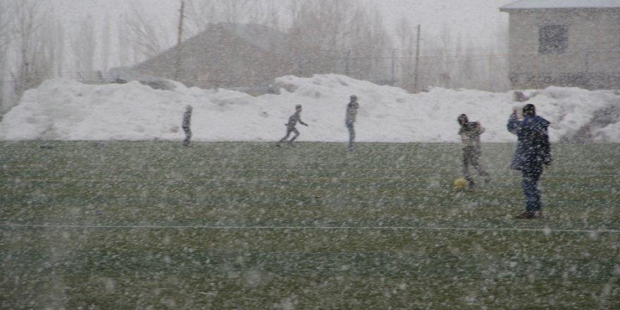 Başkale kar yağışı