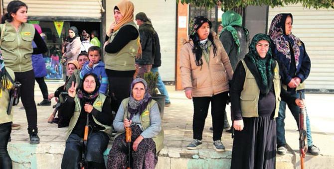 YPG'nin Sivil Kıyafet Oyunu