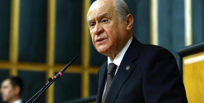 """Devlet Bahçeli: """"Şehide haciz millete hakarettir"""""""