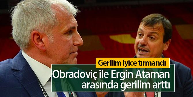 Obradovic ile Ergin Ataman Arasında Ne Yaşandı