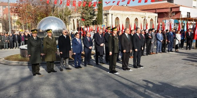 Atatürk'ün Malatya'ya gelişinin 87. yıldönümü kutlandı