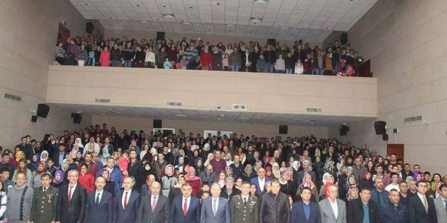 Develi'de Şair Mehmet Akif Ersoy için anma töreni düzenlendi