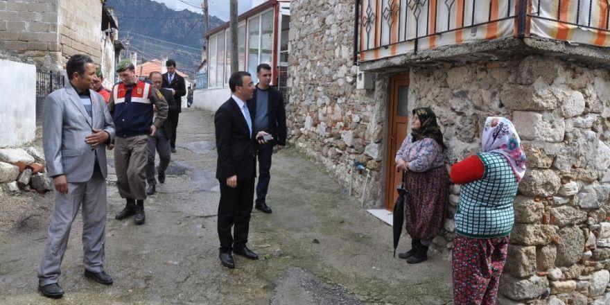 Kaymakam Arslan vatandaşlarla buluştu