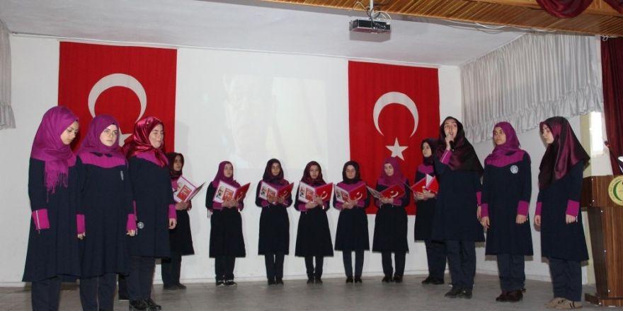 İstiklal Marşı'nın Kabulü ve Mehmet Akif Ersoy Oltu'da anıldı