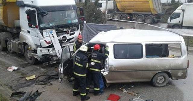 Gebze'de Feci Kaza | 4 Ölü 2 Yaralı