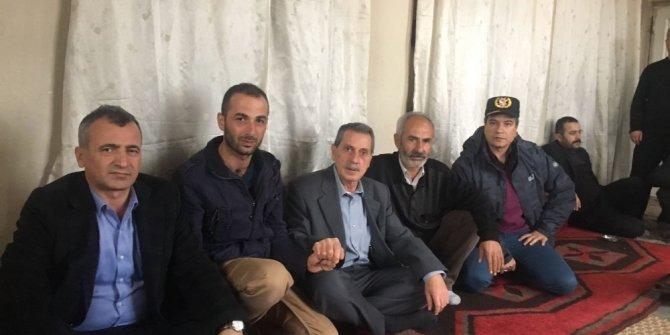 Protokol üyeleri Afrin gazisini ziyaret etti