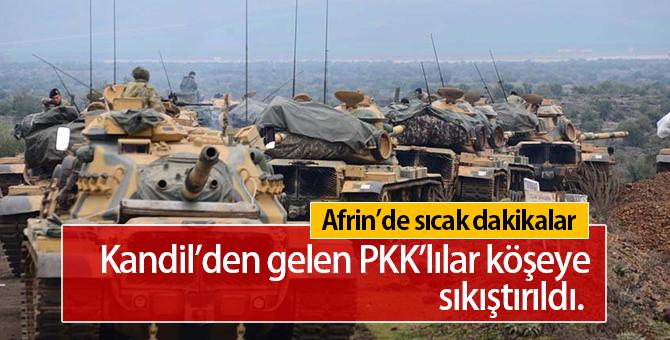 Kandilden Gelen PKK'lılar Köşeye Şıkıştırıldı
