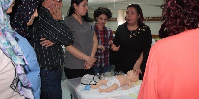 Aydın'da NRP eğitimi düzenlendi