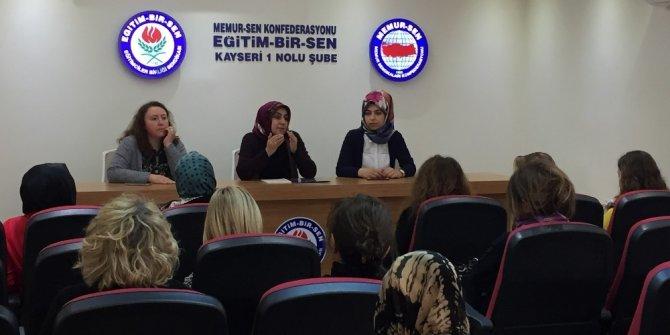 Eğitim Bir Sen Kadın Komisyonunda Görev Değişimi