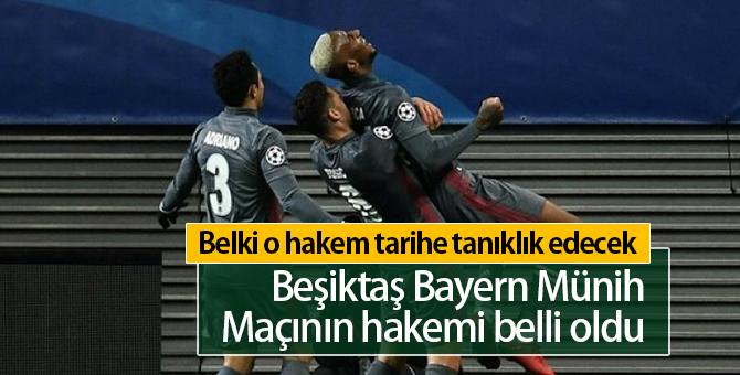 Beşiktaş Bayern Münih Maçının Hakemi Kim
