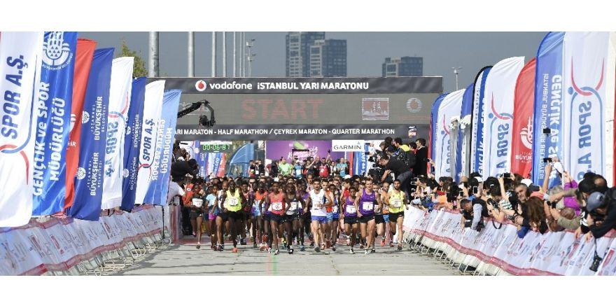Vodafone İstanbul Yarı Maratonu kayıtları 10 Nisan Pazartesi sona eriyor
