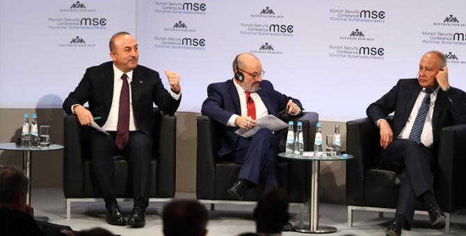 Çavuşoğlu'ndan Arap Birliği Genel Sekreteri'ne Tokat Gibi Cevap