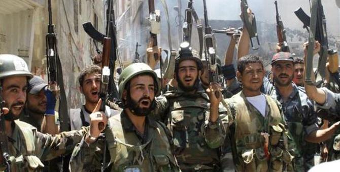 Suriye Rejim Güçleri Afrin'e Giriyor