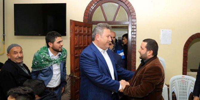 Başkan Palancıoğlu Reşadiye mahallesinde