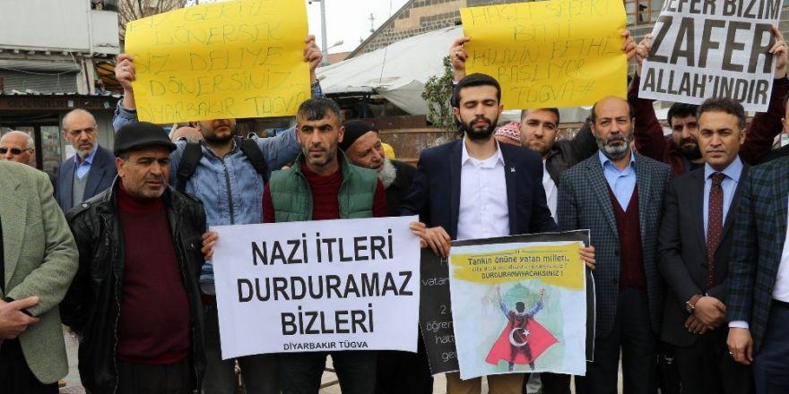 Avrupa'nın uyguladığı politikalara Diyarbakır'dan kınama