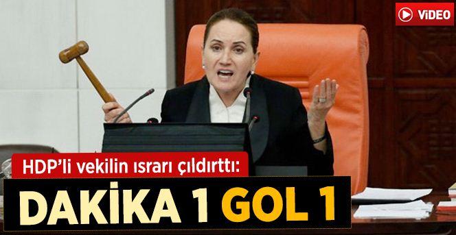 HDP'li Altan Tan, Meral Akşener'i sinirlendirdi