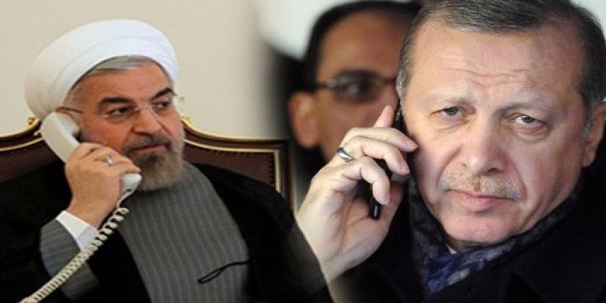 Erdoğan Putin'den sonra Ruhani ile görüştü