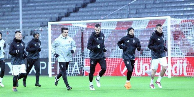 Beşiktaş, Bayern Münih maçı hazırlıklarını tamamladı