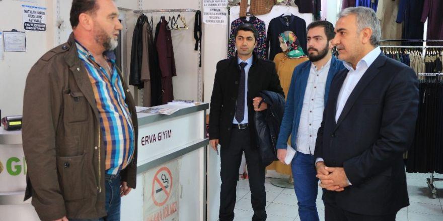 AK Partili Ağralı referandum için destek istedi