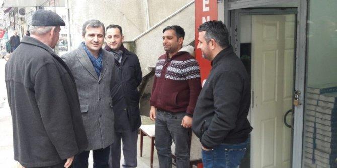 Başkan Yemenici esnaf ziyaretlerine devam ediyor