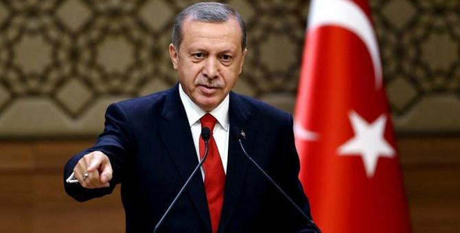 """Erdoğan: """"İHA'ları düşürürseniz düşürün zaten yeterince var"""""""