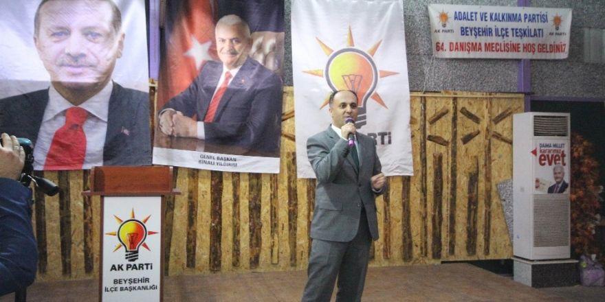 AK Parti Beyşehir Teşkilatından vefa yemeği