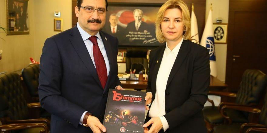 Gagavuzya Başkanı Vlah'dan Başkan Ak'a ziyaret
