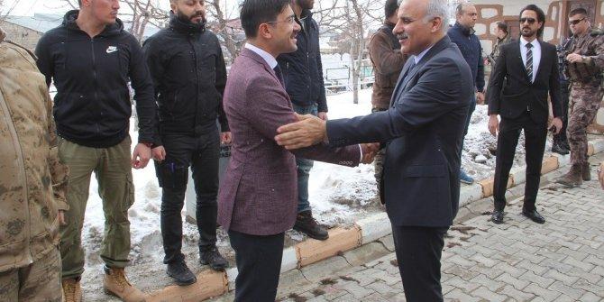 Başkale'de Zeytin Dalı Harekâtı şehitleri için mevlid okutuldu