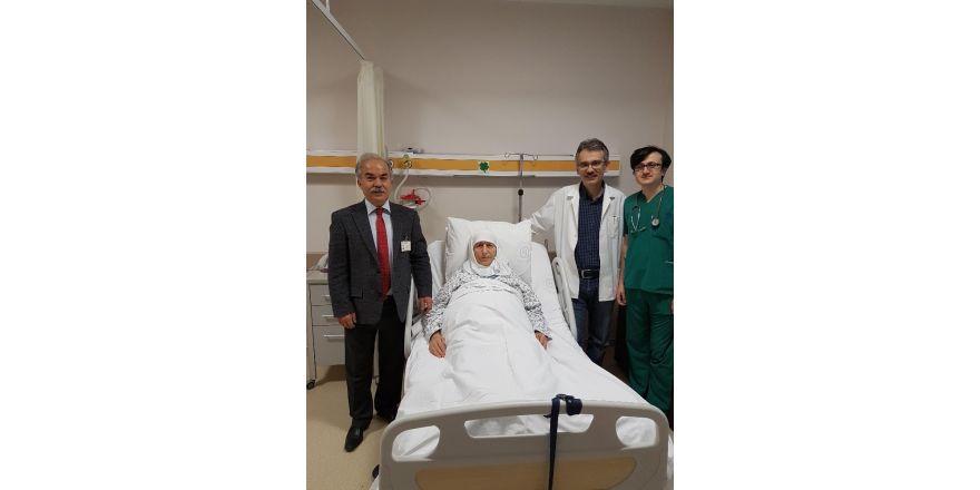 ESOGÜ Hastanesinde aort baloncuğu patlamadan tedavi edildi