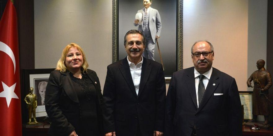 Kamu-Der Genel Başkanı Baştuğ, Başkan Ataç'ı ziyaret etti