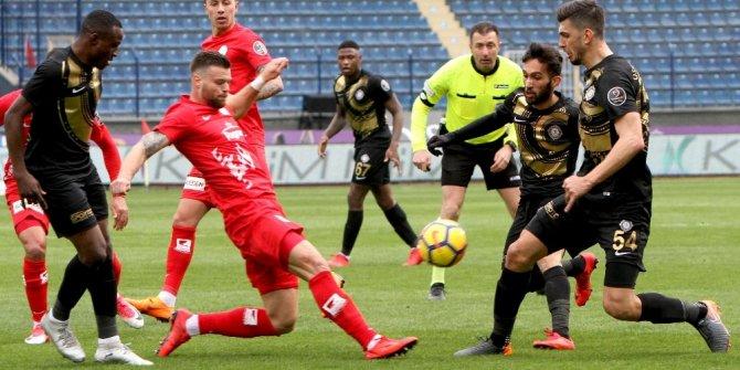 Spor Toto Süper Lig: Osmanlıspor: 0 - Antalyaspor: 0 (İlk yarı)