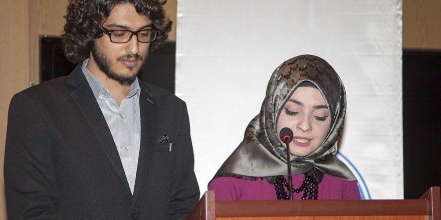 Hakkari üniversitesi istiklal marşı programı düzenledi