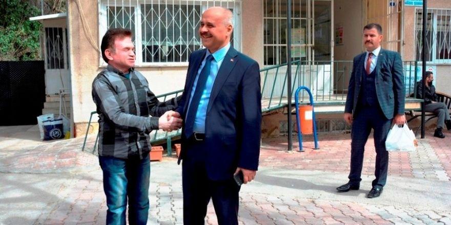 Niğde Valisi Ertan Peynircioğlu;