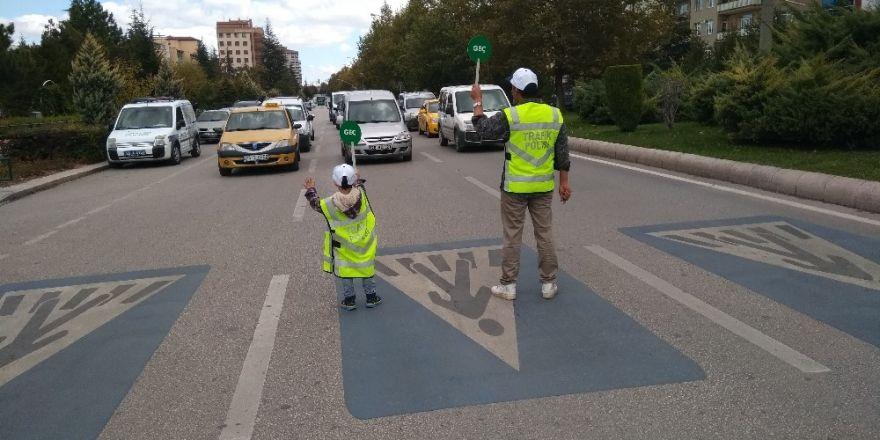 Çocuk trafik eğitim projesi