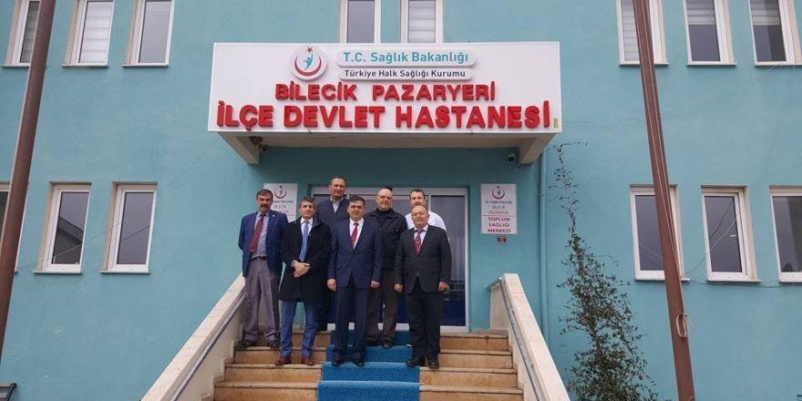 Başkan Yalçın, 14 Mart Tıp Bayramı nedeniyle ilçe hastanesini ziyaret etti