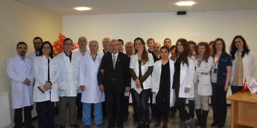 Başkan Albayrak'tan başhekimlere Tıp Haftası ziyareti