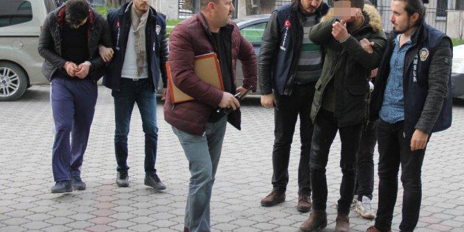 Samsun'da 2 polisi hastanelik eden 3 kişi serbest