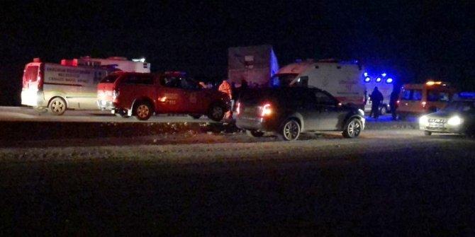 Erzurum'da trafik kazası: 4 ölü, 1 yaralı