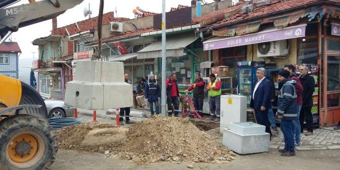 Hisarcık'ta Mobese Sistemi Kurulum çalışmaları